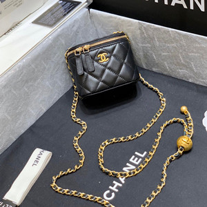 chanel small classic box with chain