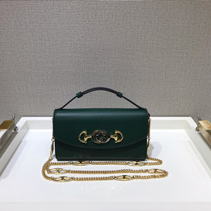 gucci zumi smooth leather mini shoulder bag #564718