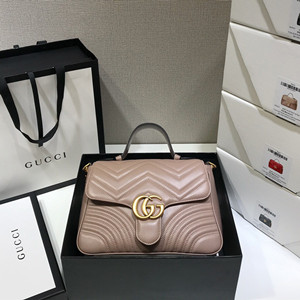 gucci gg marmont small top handle bag #498110