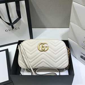 gucci gg marmont small matelasse shoulder bag #447632