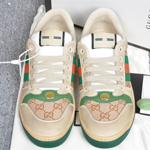 gucci women's screener leather sneaker shoes